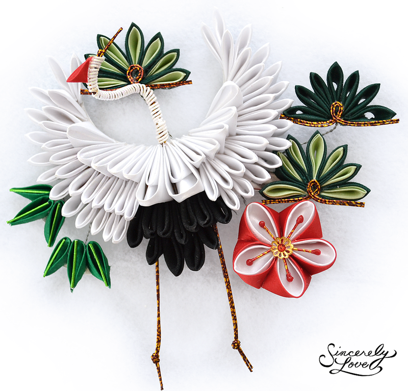 Three Friends Of Winter Kanzashi by SincerelyLove