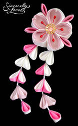 Cherry Doll Kanzashi