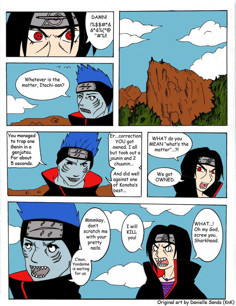 Itachi and Kisame by Luminaaire