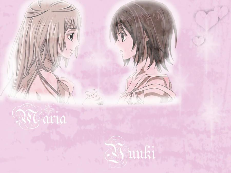 Maria and Yuuki Desktop by NekoNekoPop