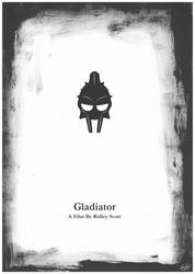 Gladiator Film Poster by FirGeL
