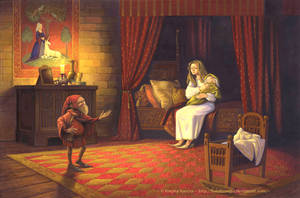 Rumpelstiltskin illustration 2 by FunderVogel