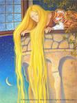 Rapunzel illustration 1