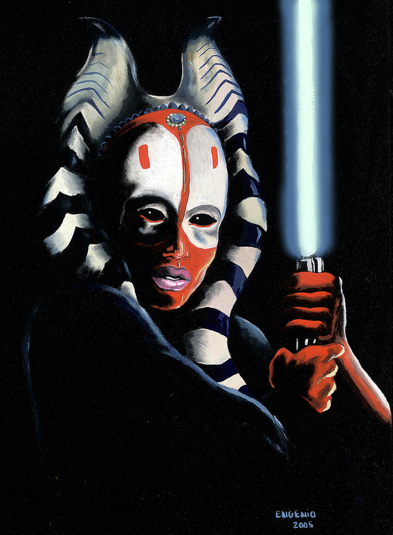 Shaak Ti by MomentsOfBloom on DeviantArt