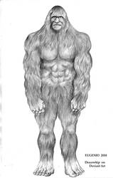 Sasquatch by Dracowhip