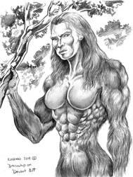 Lady Sasquatch Rayha by Dracowhip