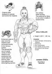 Molly Driller character sheet