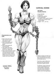 Goticka Domm character sheet