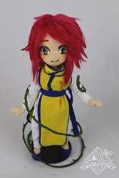 Kurama plushie by CubeForest