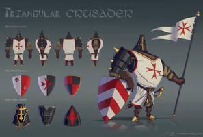 Triangular Crusader