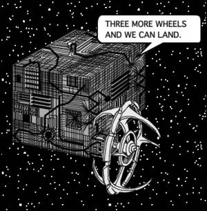 A low res cartoon from 1968 - Cube