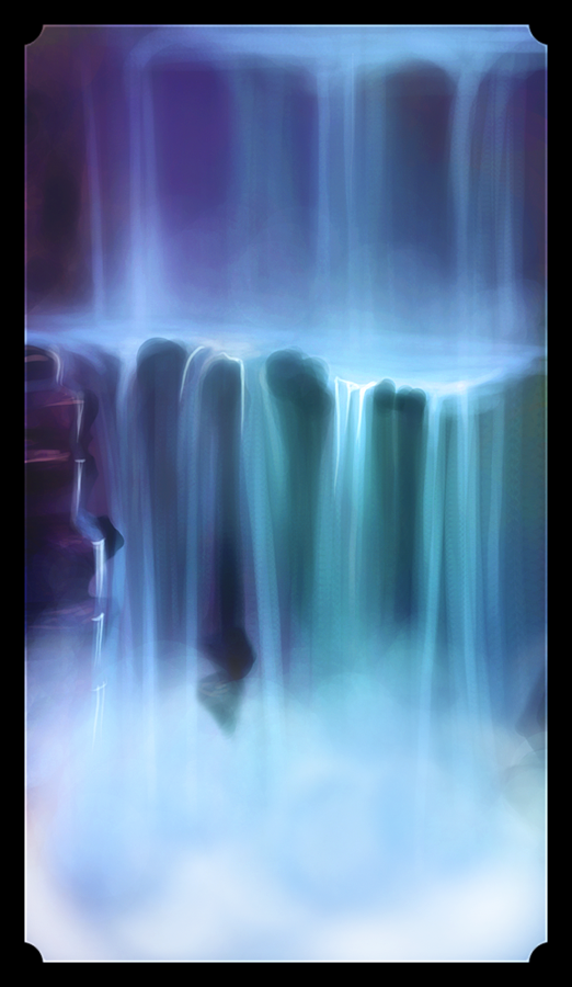 waterfall by Centi
