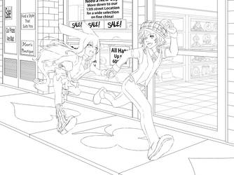 Oh No Im LATE COLORING PAGE by BananAdopt