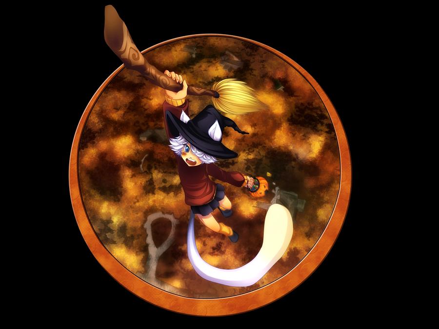 Halloween: Nyaaaaaaaaaaaa by Centi