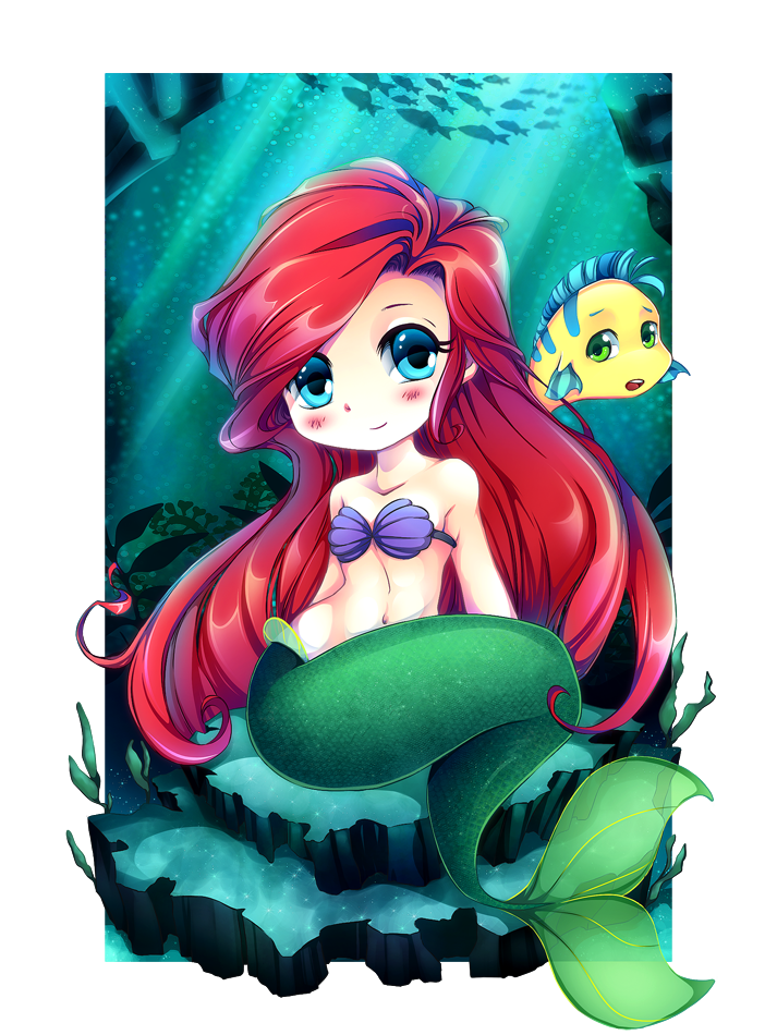 The Little Mermaid by Centi