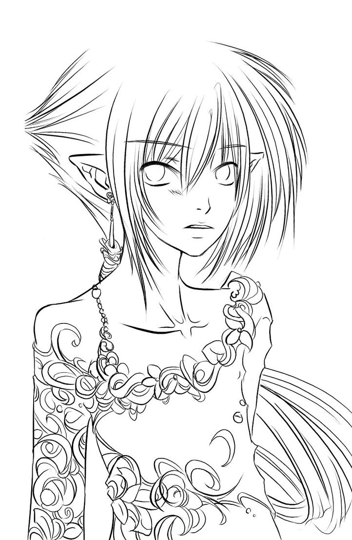another coloring page wewt by centi on deviantart
