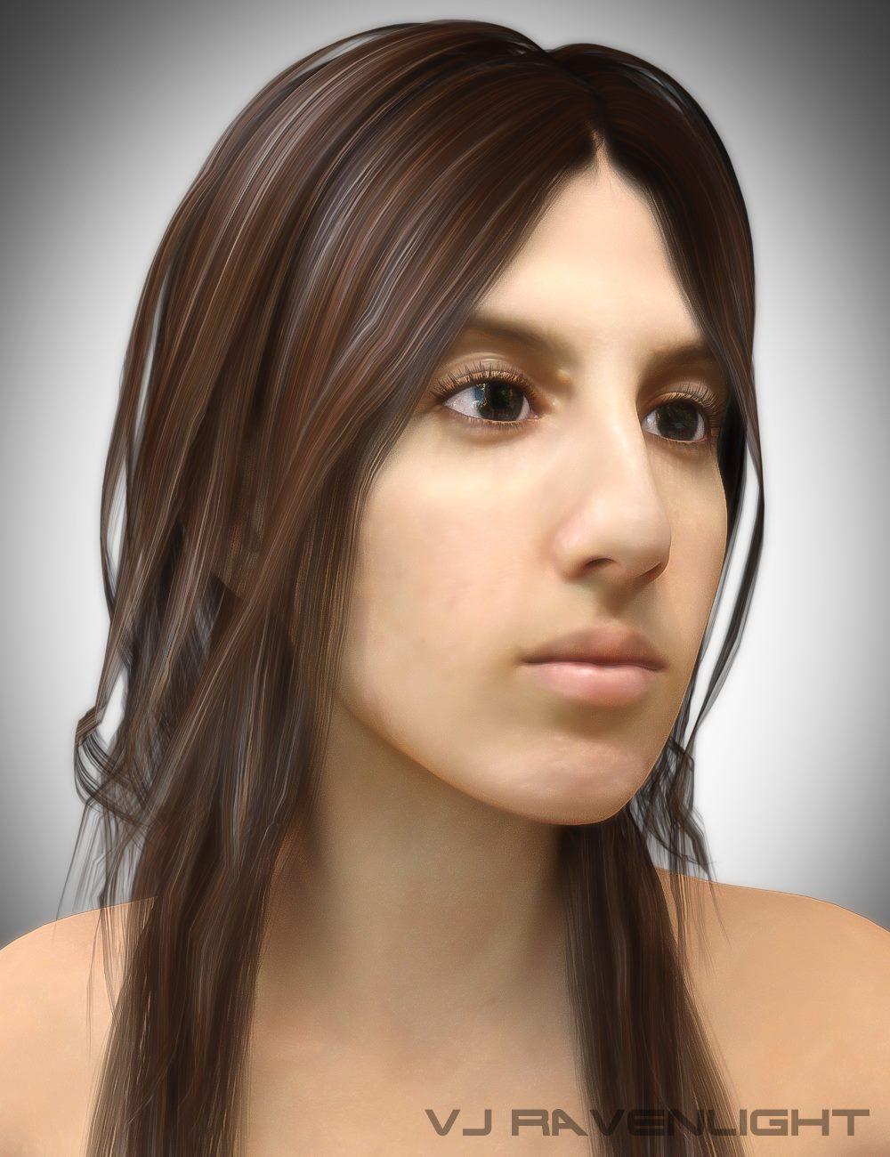 Custom Digital Portrait: Maliya! by VJRavenlight