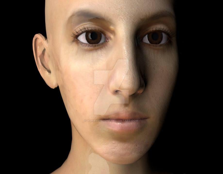 Digital Portrait Custom: Maliya by VJRavenlight