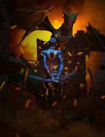 Dragon Slayer DUEX by mestophales