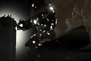 Single Light Source Study with slight Post by mestophales