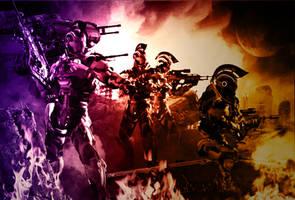 Alpha Team by mestophales