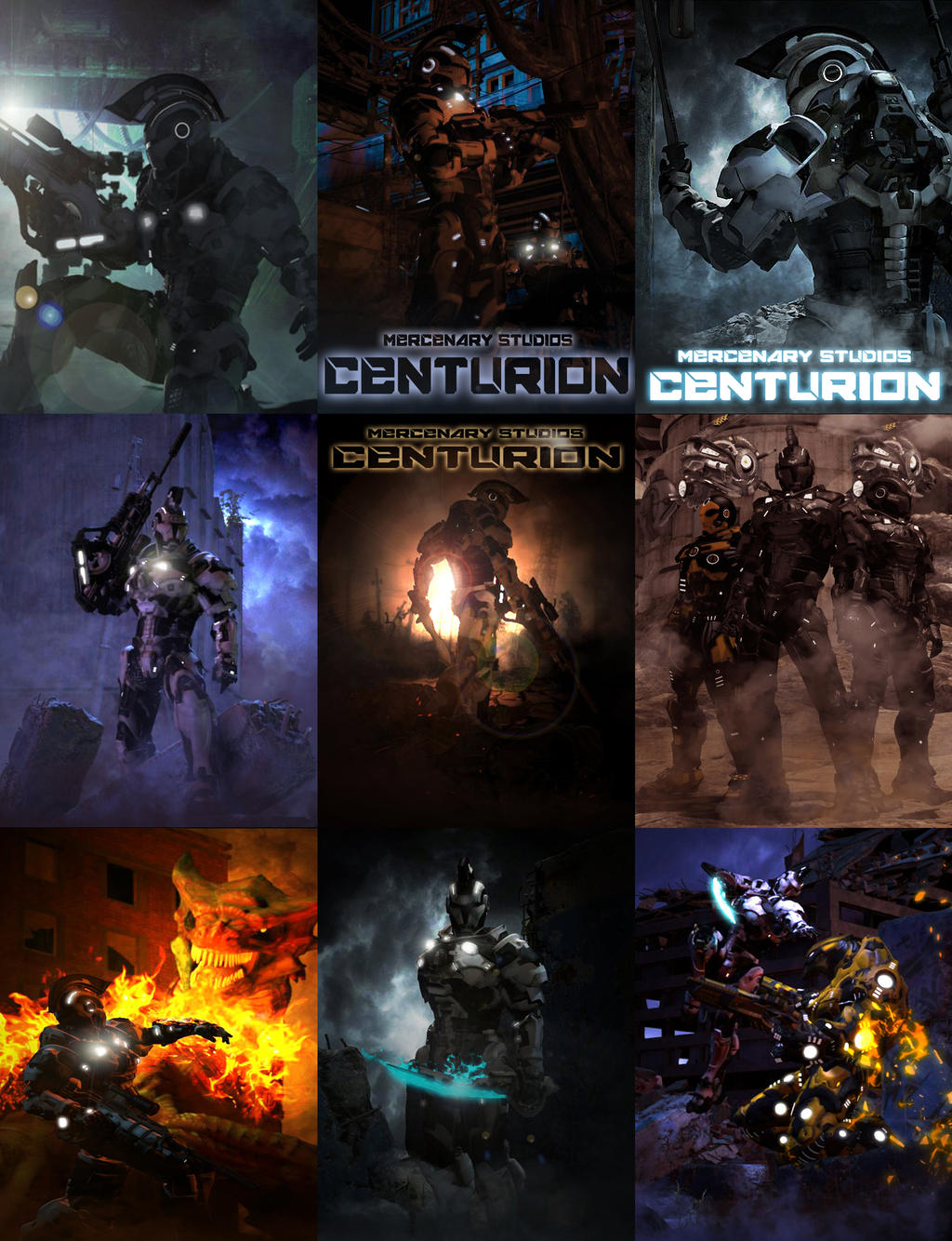 Centurion Collage by mestophales