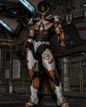 Texture set for the Coalition Rapier