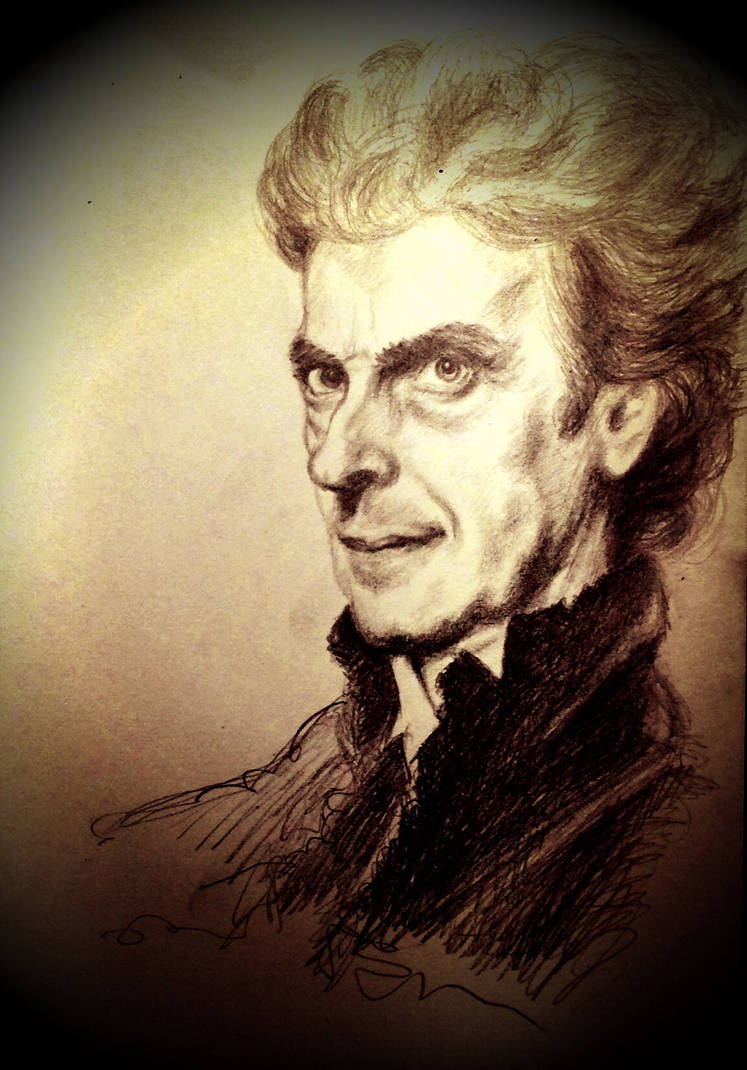 Peter Capaldi The Twelfth Doctor By Mustbethetruth On Deviantart