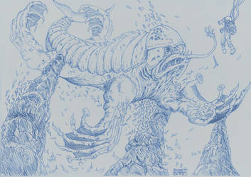 Dagon redux by MerianDenham