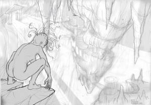 Medusa's lair (sketch 7)