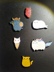 cute brooches by ShumSurra