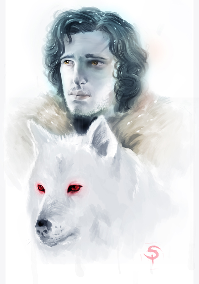Jon Snow by Monkey-Brush
