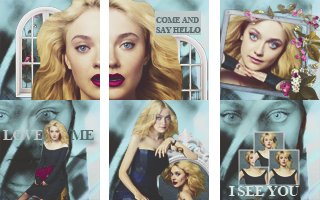 Dakota Fanning Icons by immortaldesires