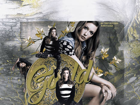 Katie Cassidy - Gold