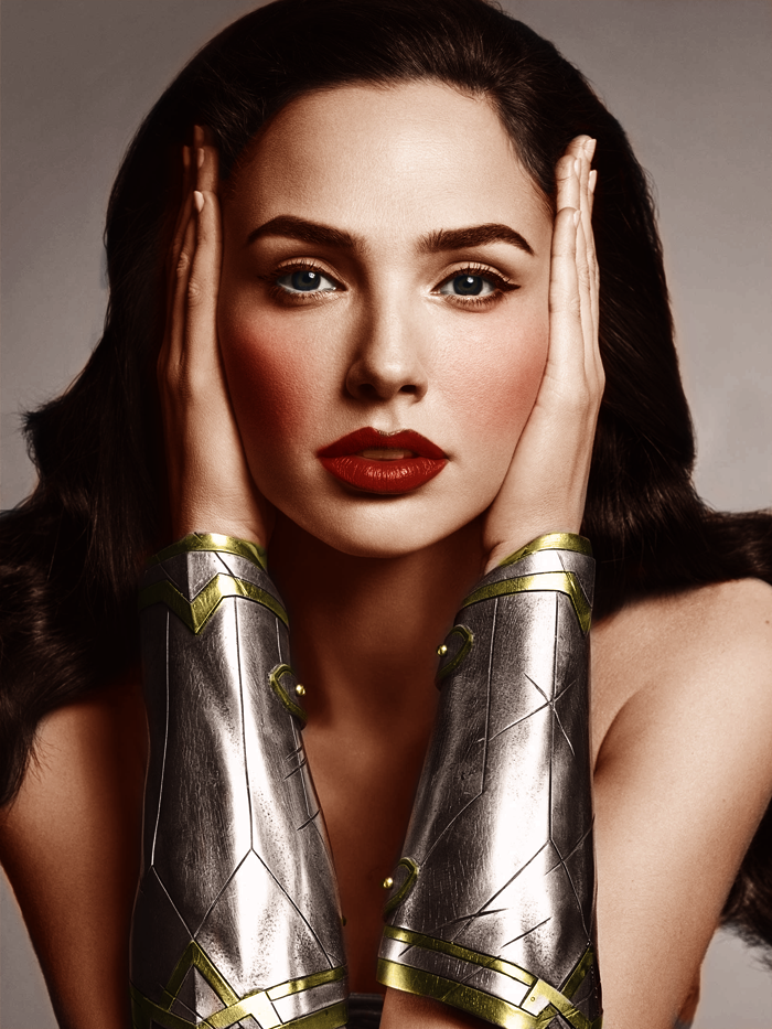 Wonderwoman Colorization by immortaldesires