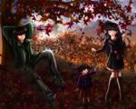 Autumn Sunset by HitokiriSakura2012