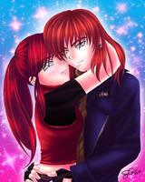 Steve and Claire  animegirlff7 by HitokiriSakura2012