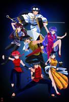Ranma 1/2 poster by HitokiriSakura2012