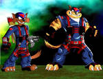 swat kats by LeoZeke