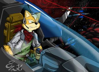 Fox::DueloEspacial by LeoZeke