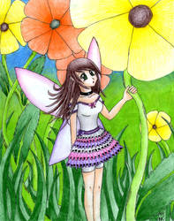 Fairy by WolfGirlWithCatEars