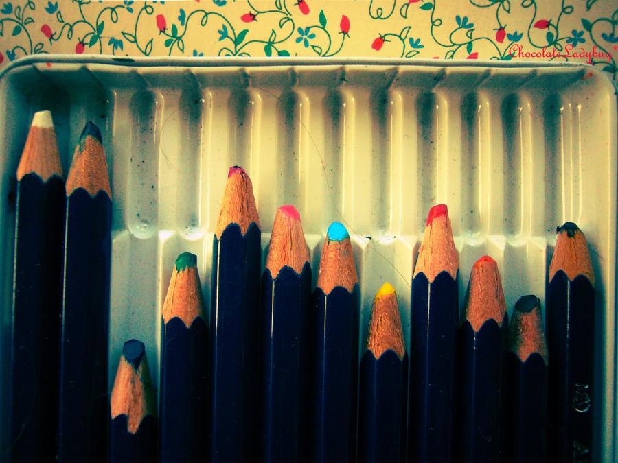 pencils by ChocolateLadybug