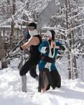 Haku and Zabuza Cosplay