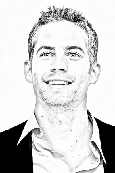 paul walker by AngelCARMINE