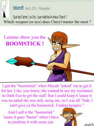 Ask the Troublesome Trio : Meet the Boomstick