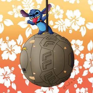 Stitch as Hammond