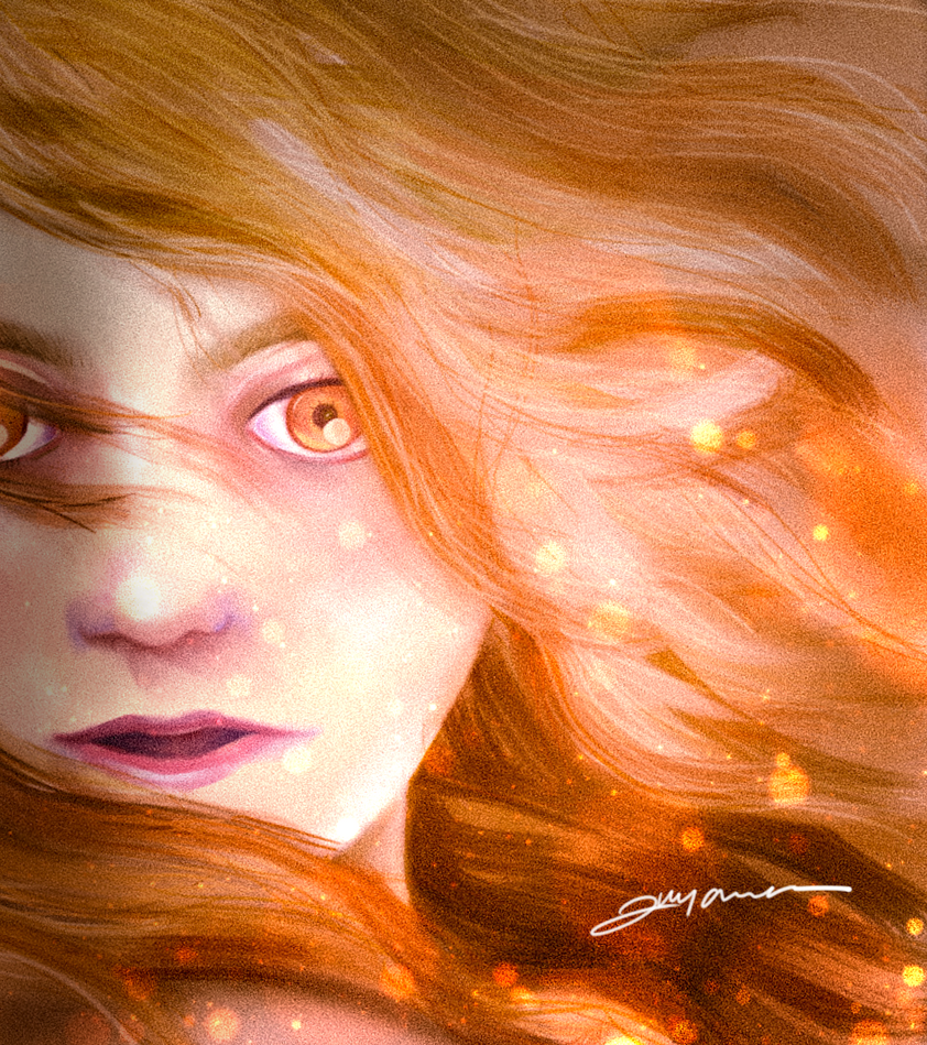 The Goddess of Fire, The Daughter of The Sun by surya-darmana
