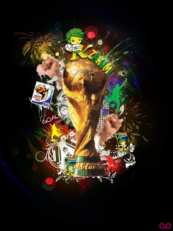 Tribute To FIFA World Cup 2010 by agoez-depe