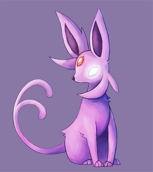 Espeon by Miss-Callie-Rose