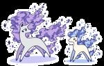 Shiny Ponyta + Rapidash
